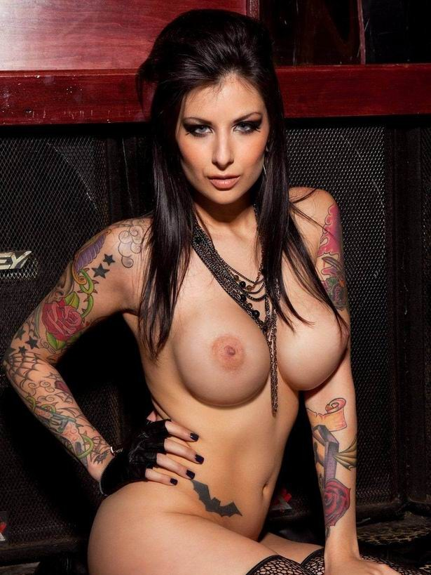 porn piercings with tattoos Girls and
